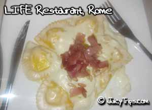 LIFE restaurant Rome