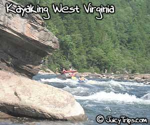 kayaking west virginia