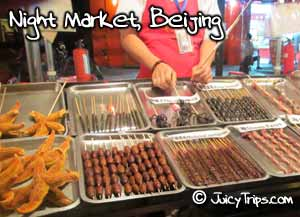 night market beijing