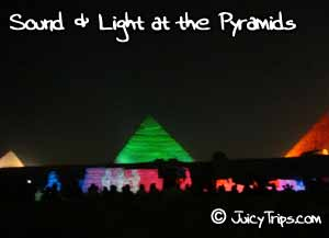 sound lights at pyramid