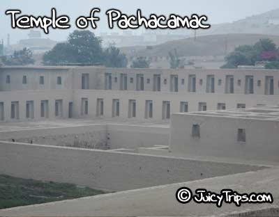 Temple of Pachacamac